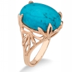 Золотое кольцо с бирюзой SL-2890-500 весом 5 г  стоимостью 24250 р.