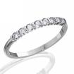 Обручальное кольцо, 8 бриллиантов SL-349-131-270 весом 2.7 г  стоимостью 24800 р.
