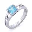Перстень с аквамарином| Мужское кольцо с аквамарином SL-6395-320 весом 3.2 г  стоимостью 32500 р.